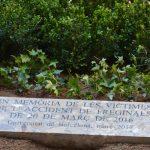 La UB erigeix un monument en record de les víctimes de Freginals