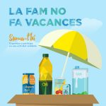 """La Universitat de Barcelona col·labora a la campanya """"La fam no fa vacances"""""""