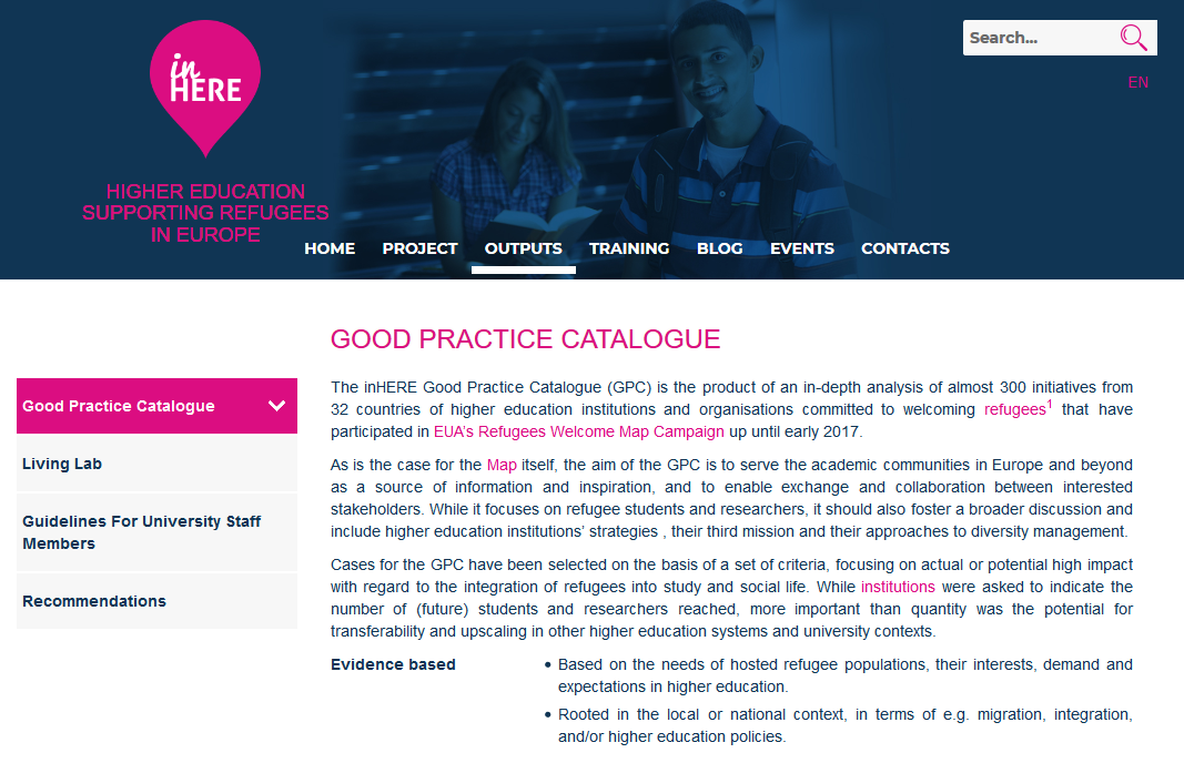 Good Practice Catalogue